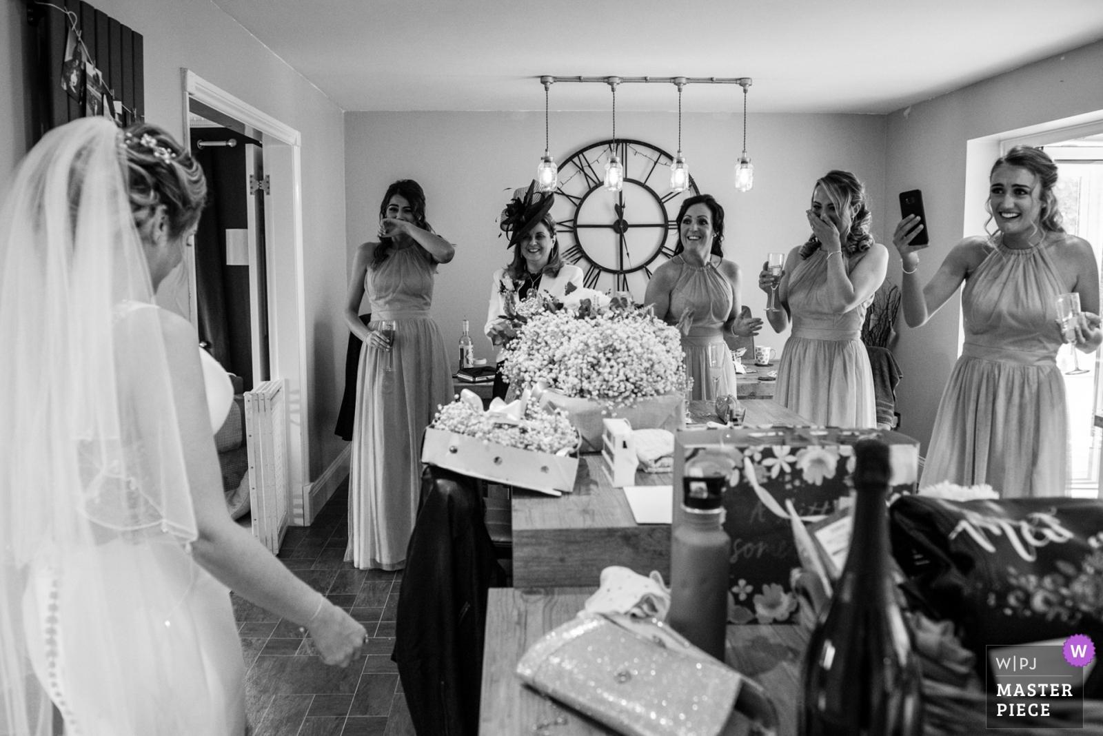 First look - Lancashire, England Wedding Photography -  | Burnley