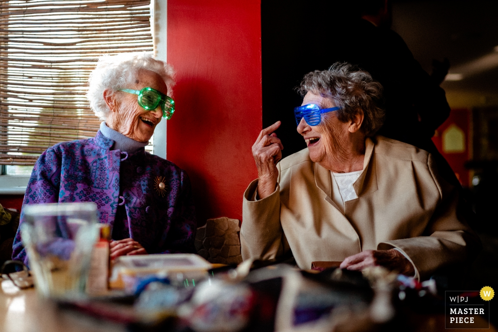 Grandmas in glasses - Hertfordshire, England Wedding Photography -  | The Mussing Sock, Cambridge, UK
