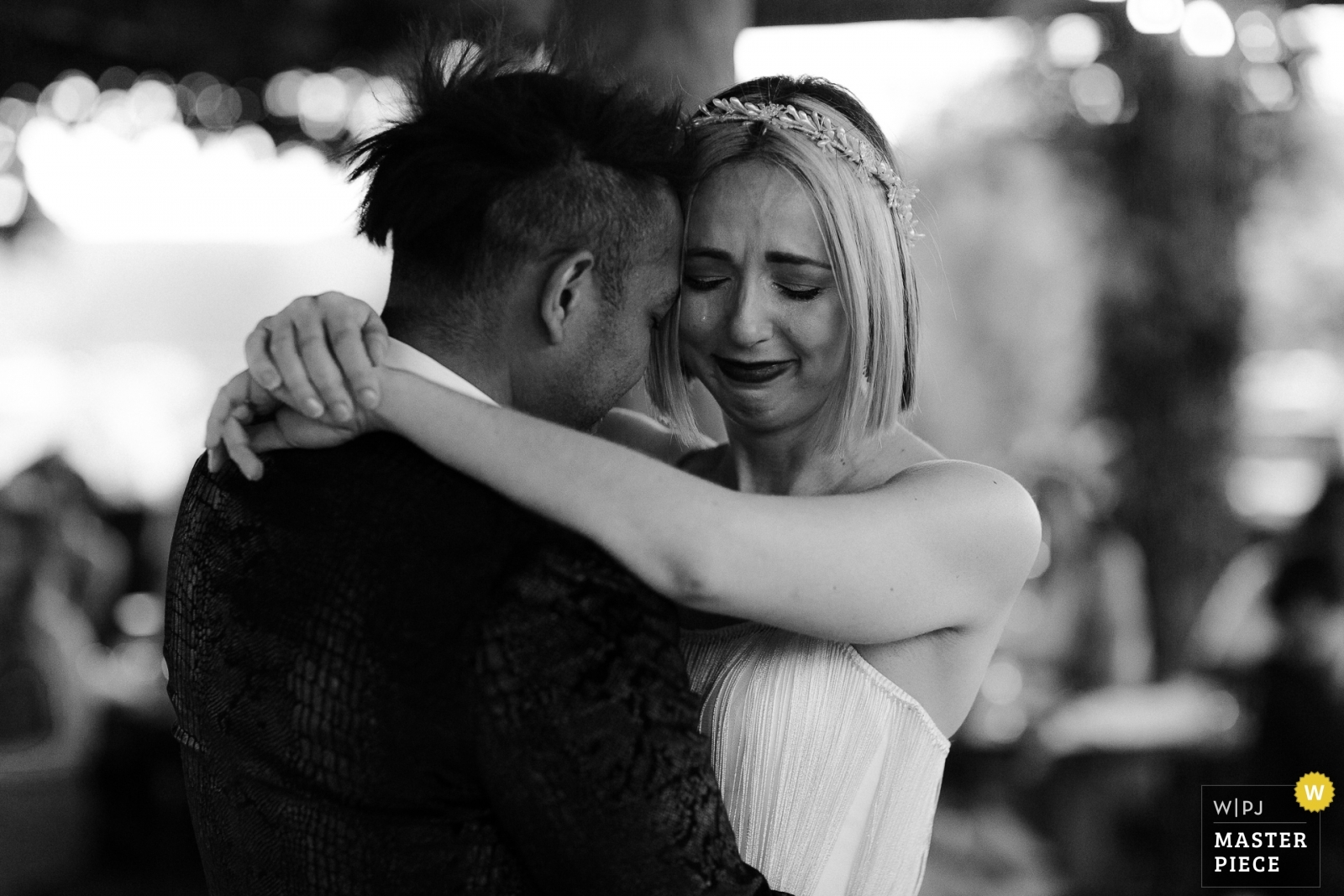 Very emotional first dance - Los Angeles, California - Southern Wedding Photography -  | Pappy and Harriets, Pioneertown, CA