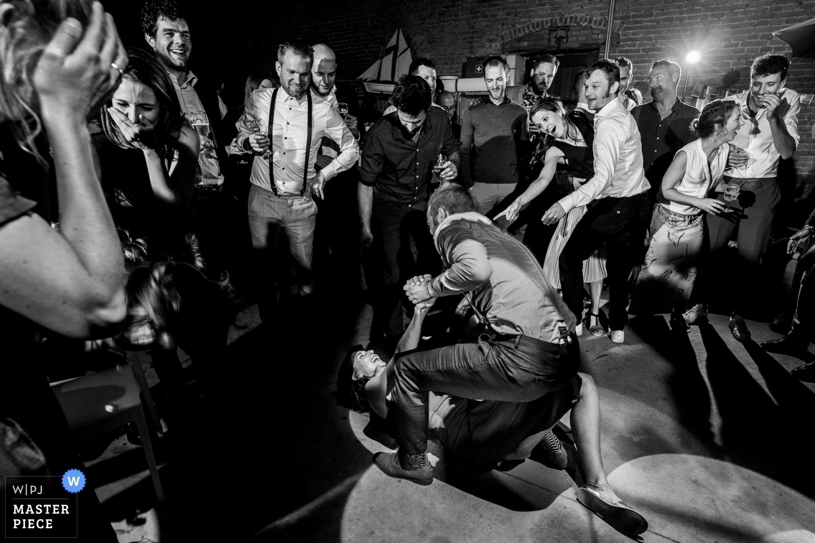 Dangerous dancefloors - Vlaams-Brabant, Flanders Wedding Photography -    Haacht