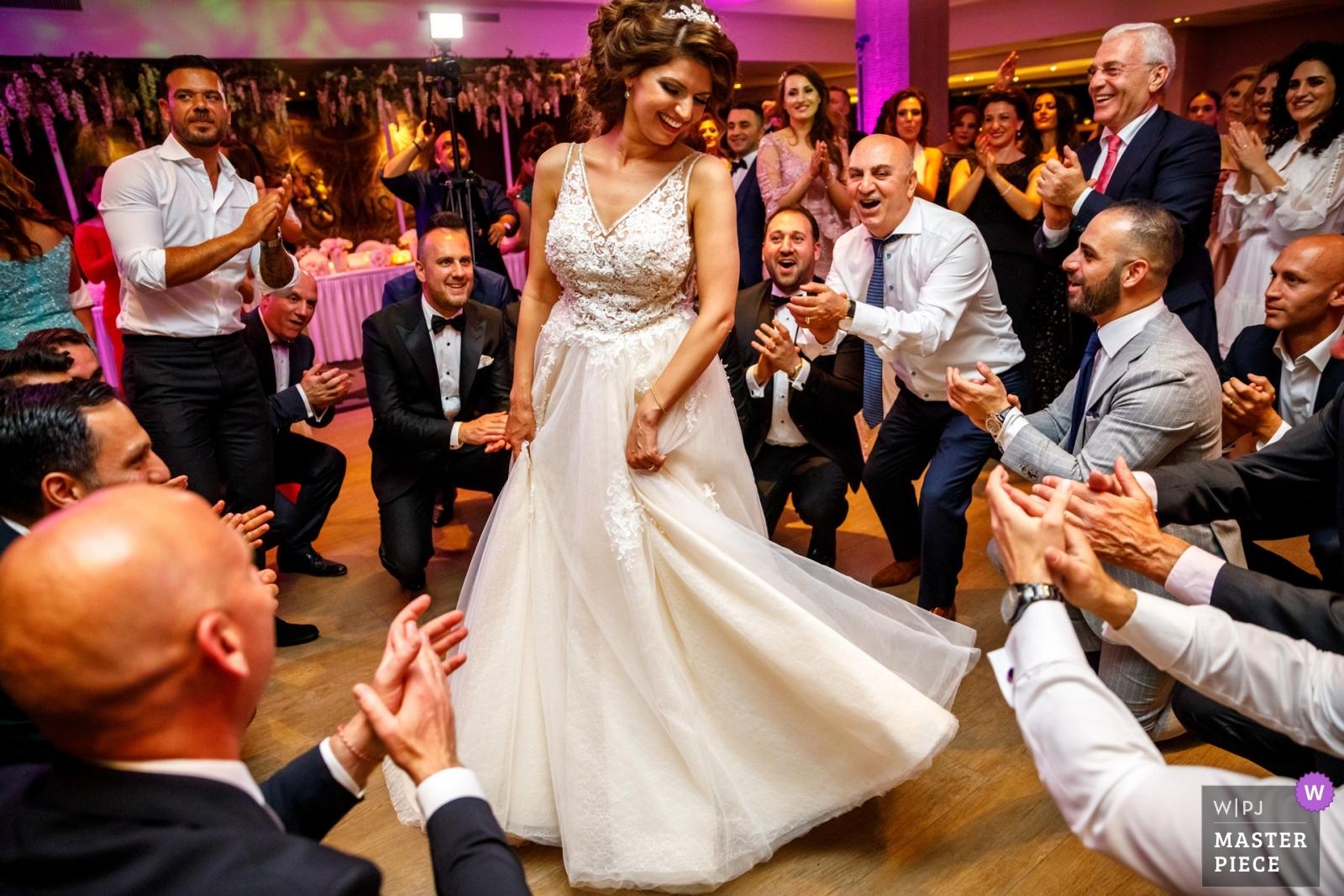 Dancing in the middle - Overijssel, Netherlands Wedding Photography -    Hengelo - Waarbeek