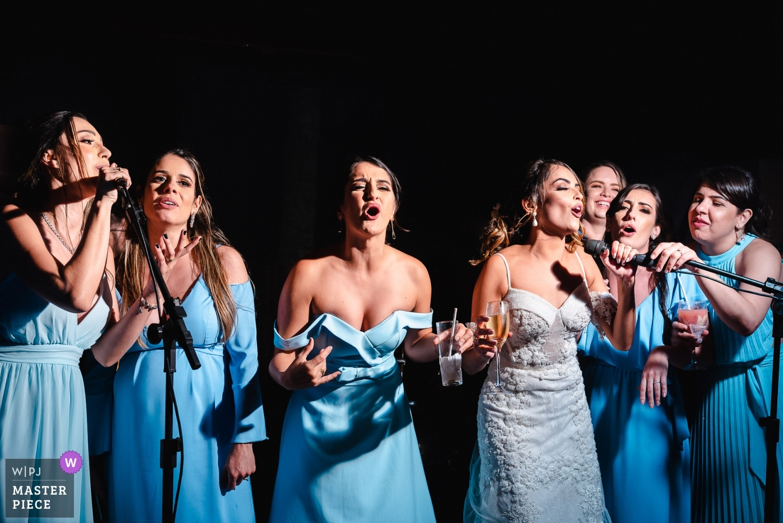 Singing in one voice. - Rio de Janeiro, Brazil Wedding Photography -  | Ilheus - BA - Brazil