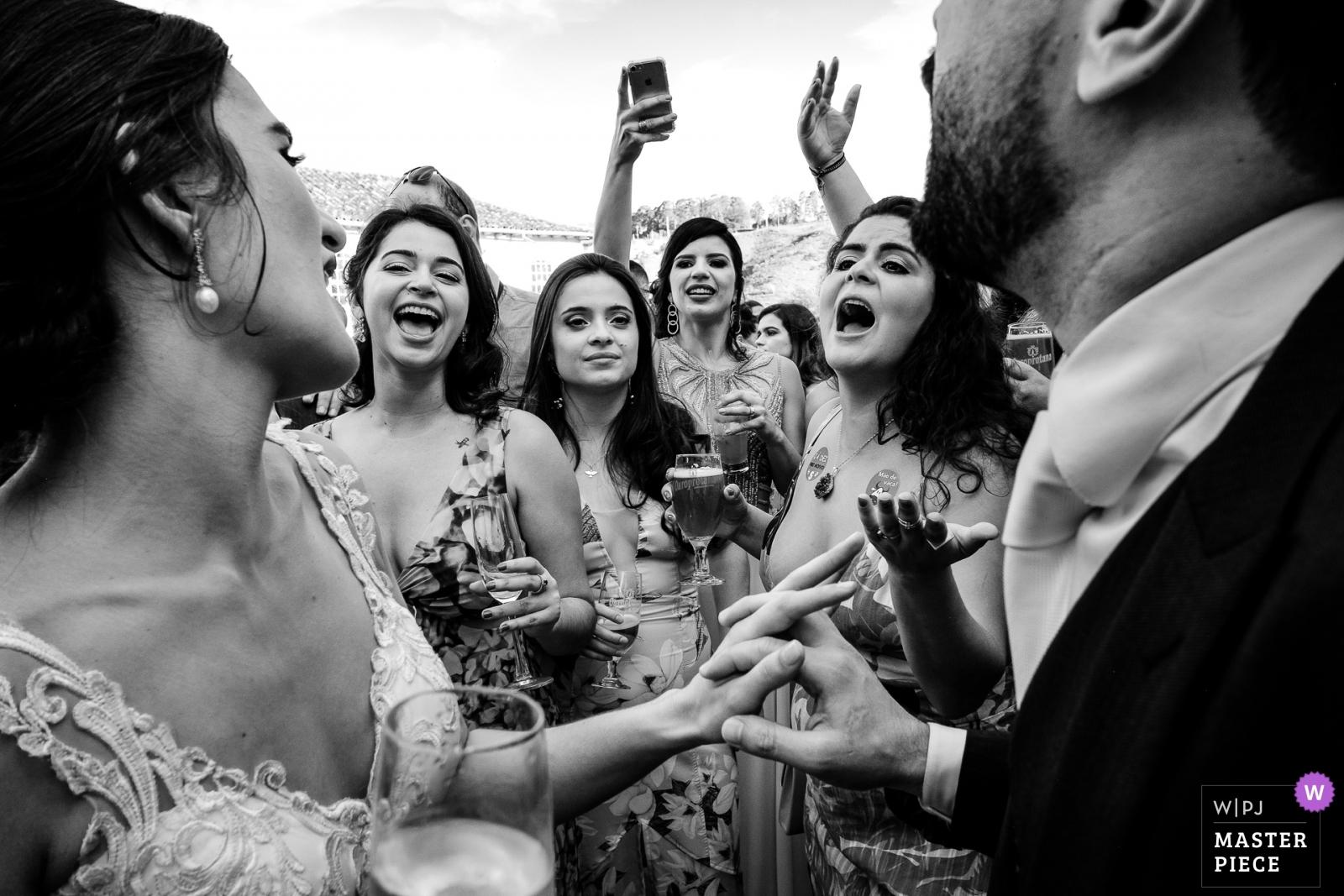 Ana e Marcus - Minas Gerais, Brazil Wedding Photography -  | Reception Venue