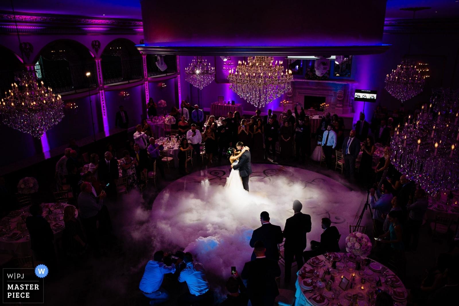 First dance on the cloud.  - Philadelphia, Pennsylvania Wedding Photography -  | Luciens Manor