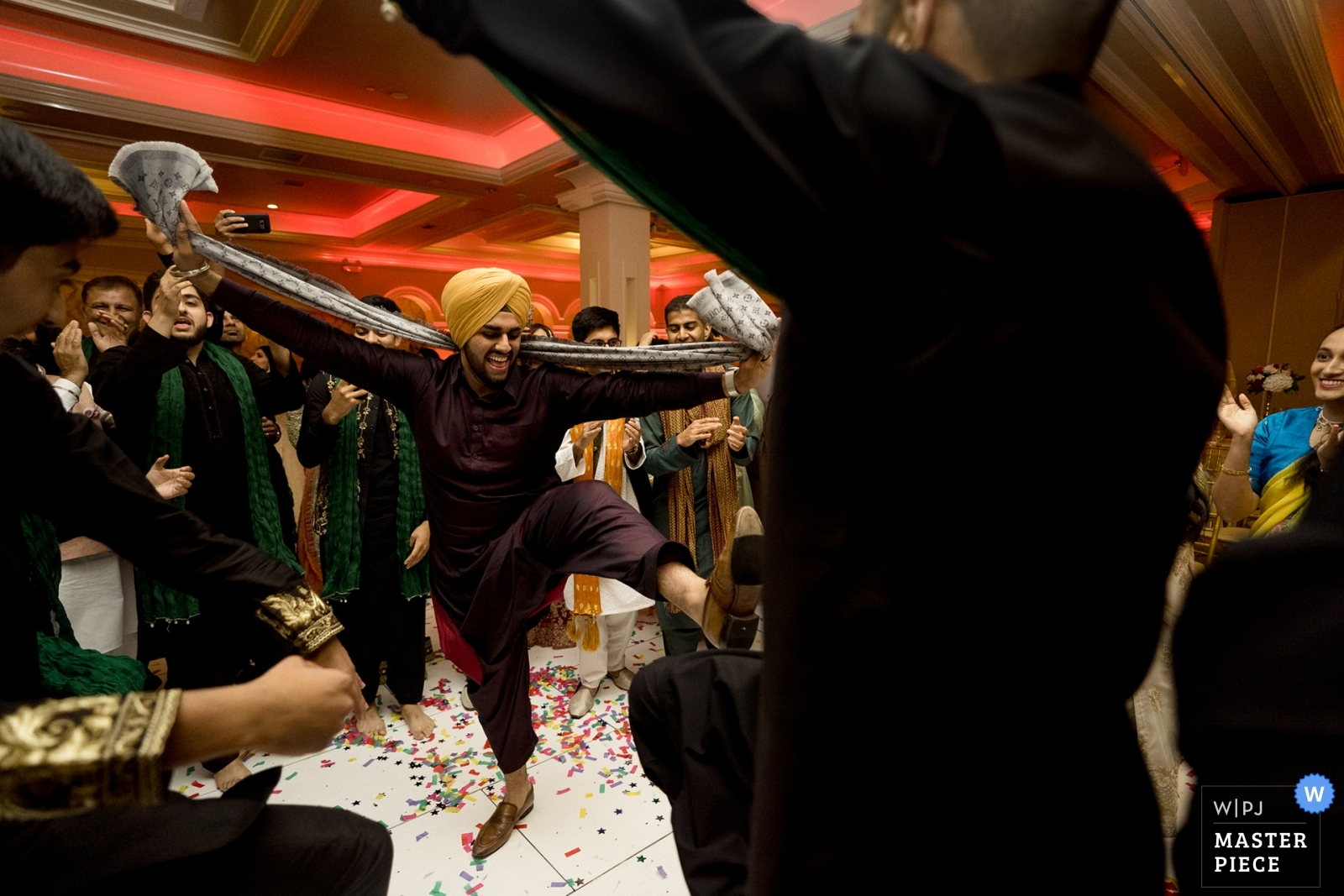 dancing at Indian wedding - Seattle, Washington Wedding Photography -  | Sacramento California
