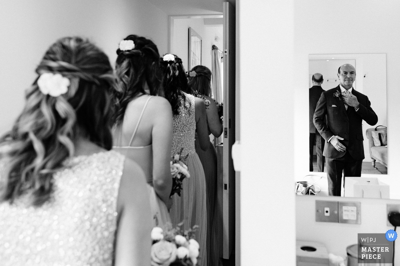 Father of the bride before the ceremony - West Midlands, England Wedding Photography -  | Farbridge, Chichester, West Sussex, UK