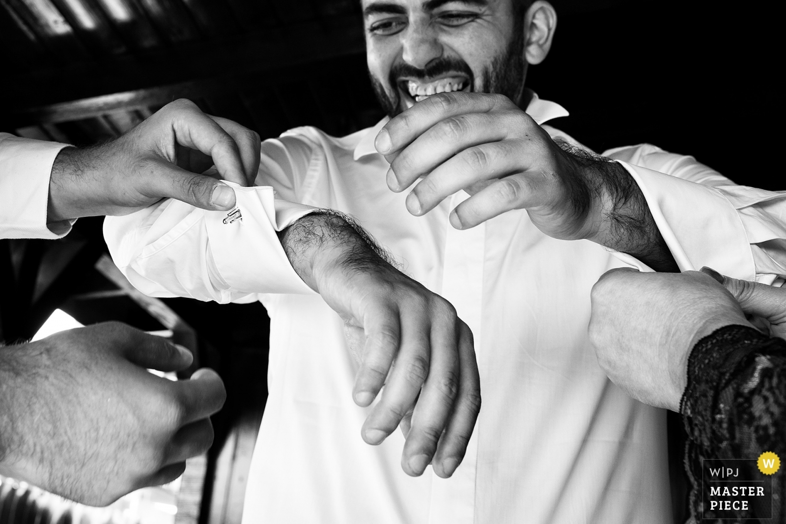 Groom getting ready - Bucharest, Romania Wedding Photography -  | Grooms home Tunari