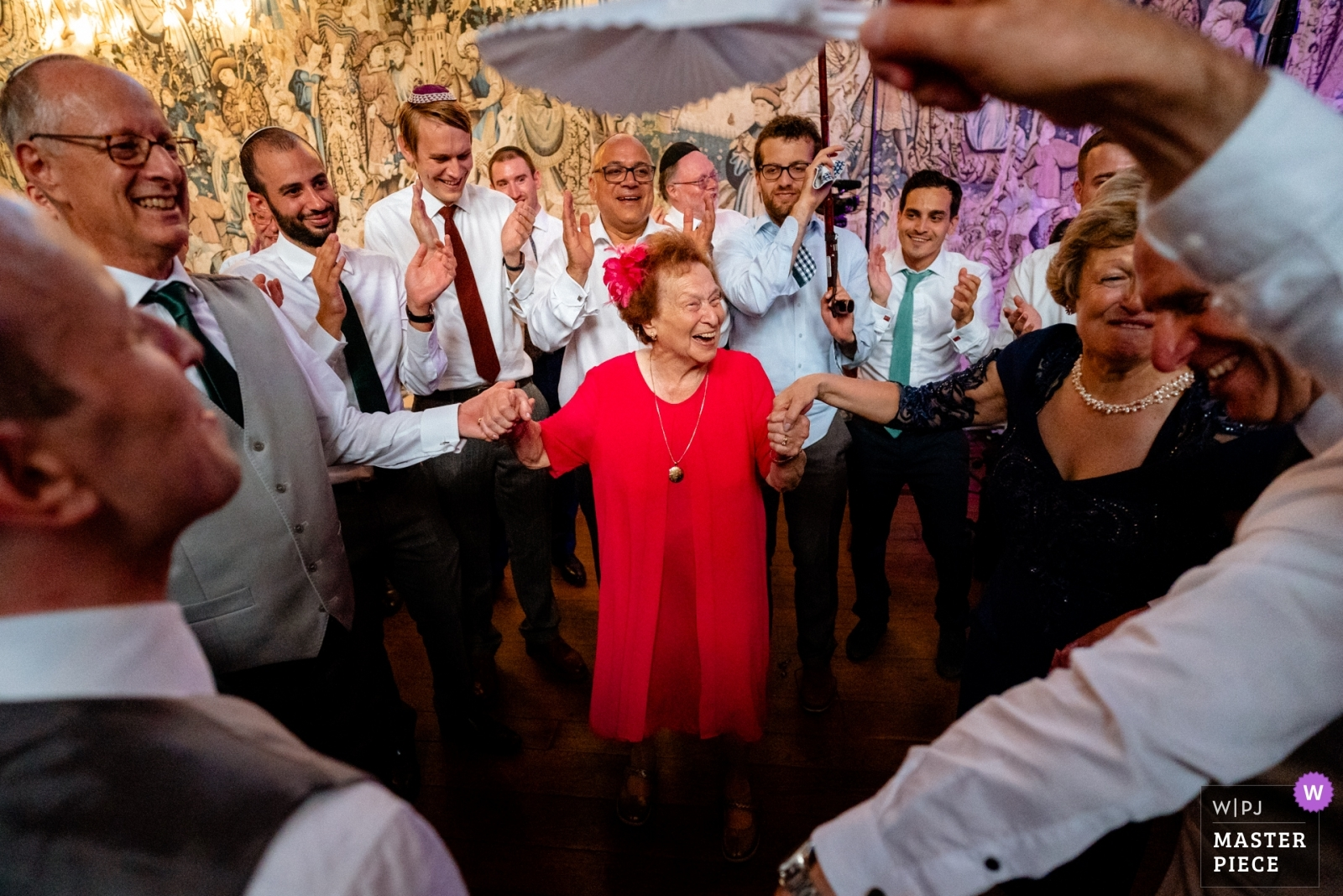 Grandma on the dance floor - Hertfordshire, England Wedding Photography -  | Hatfield House, Hertfordshire, UK