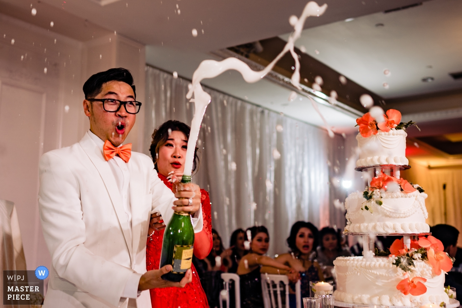 Champagne time - Orange County, California - Southern Wedding Photography -  | Wedding Reception Venue
