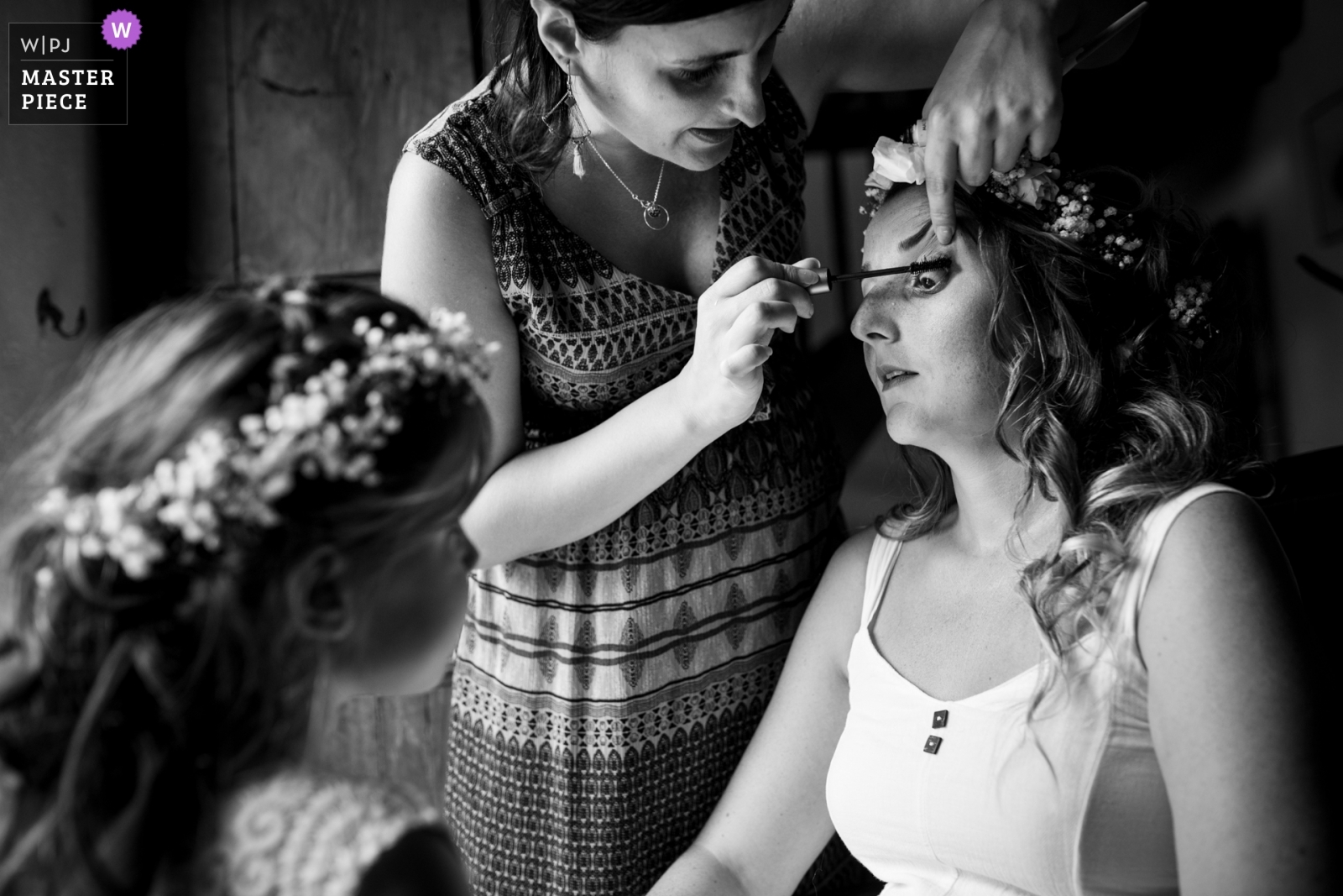 The bride during getting ready - Nouvelle-Aquitaine, France Wedding Photography -  | Turenne