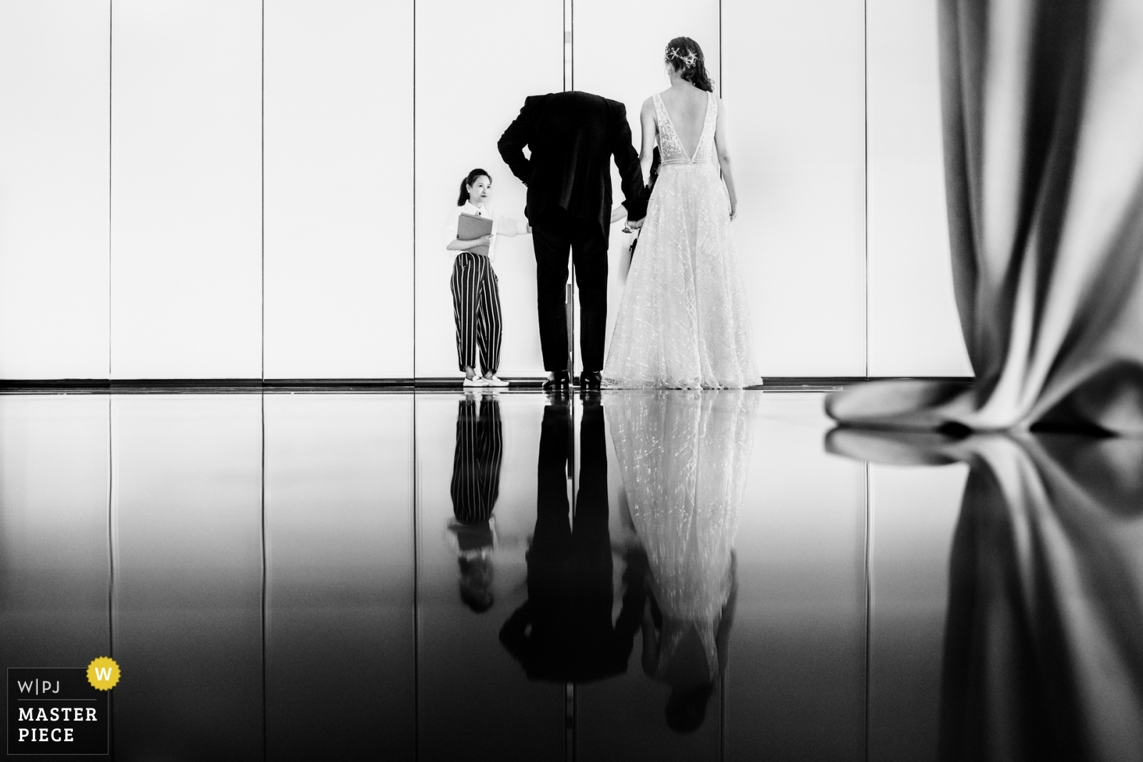 The couple was getting ready to get into the reception - Toronto, Ontario Wedding Photography -  | THE ARLINGTON ESTATE