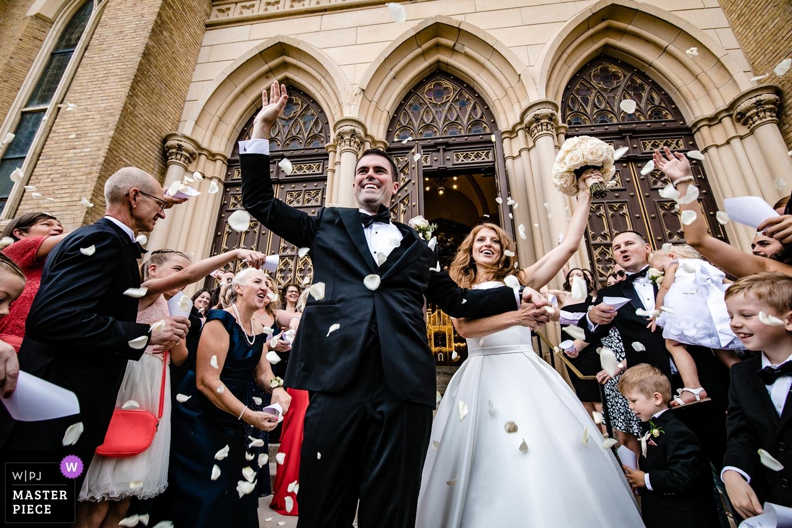 ceremony - Chicago, Illinois Wedding Photography -  | holy family catholic church