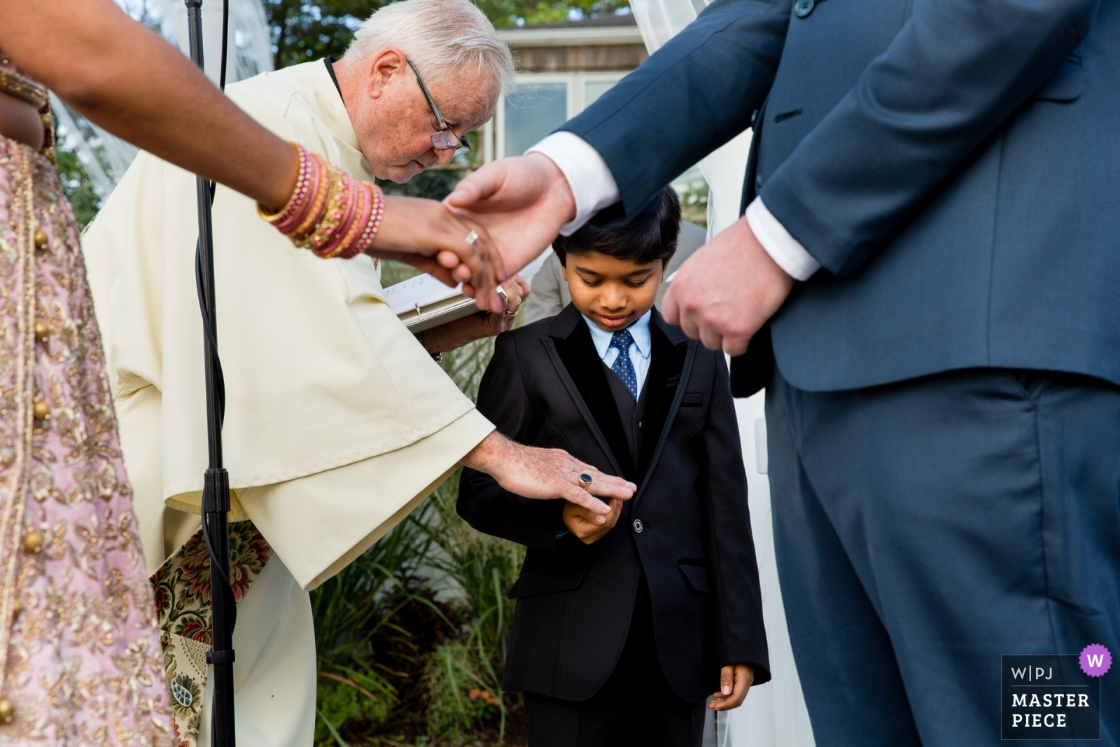 Boy with rings - New York - Long Island, United States Wedding Photography -  | Soundview Caterers, Bayville Long Island, Ceremony