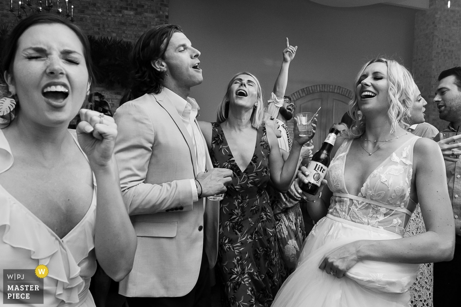 Singing while dancing - Atlanta, Georgia Wedding Photography -  | Wrightsville Manor, Wrightville, SC