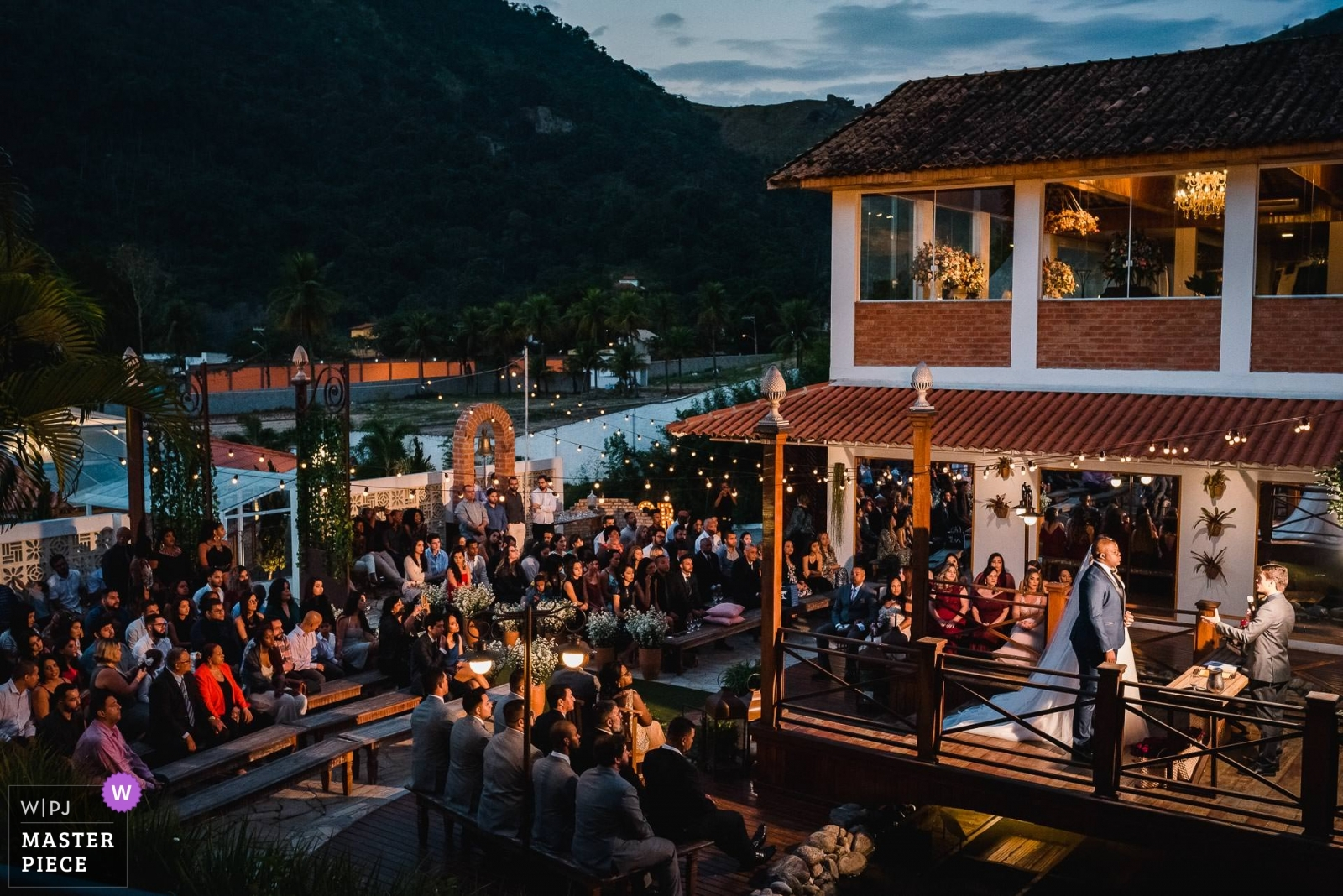 when all the guests are in the same photo. - Rio de Janeiro, Brazil Wedding Photography -  | Vila Monsaraz - Rio de Janeiro - Brazil