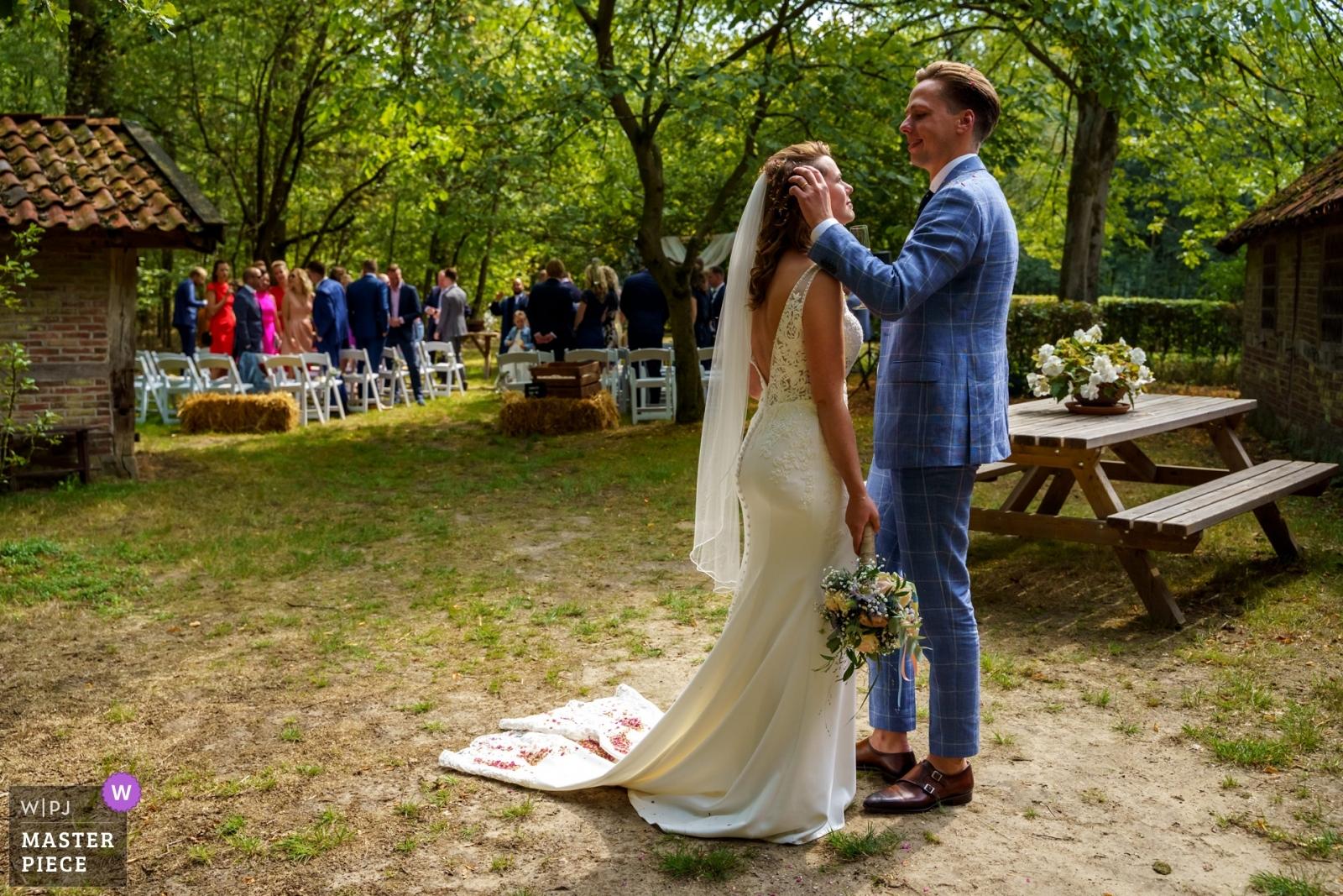 The traces of being just married - Overijssel, Netherlands Wedding Photography -    De Lutte, Jan Wesselinkhoes