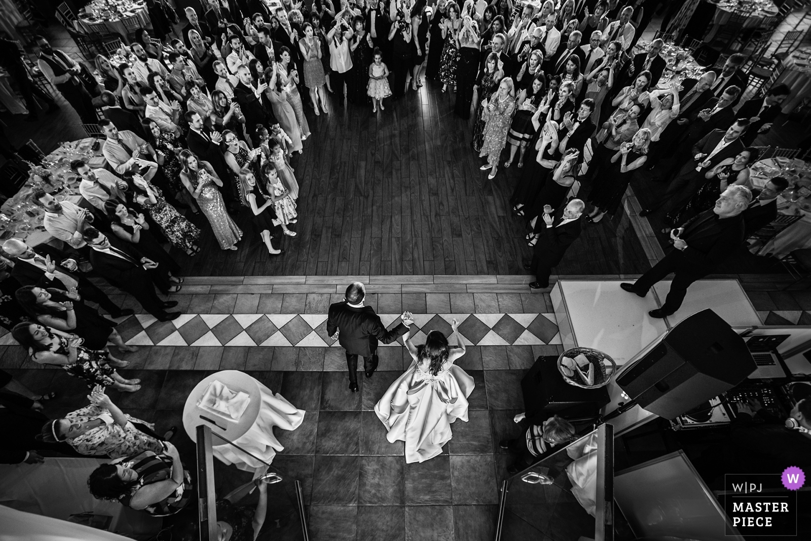 Bride and Groom are introduced into the reception - New Jersey, United States Wedding Photography -  | Liberty House, New Jersey