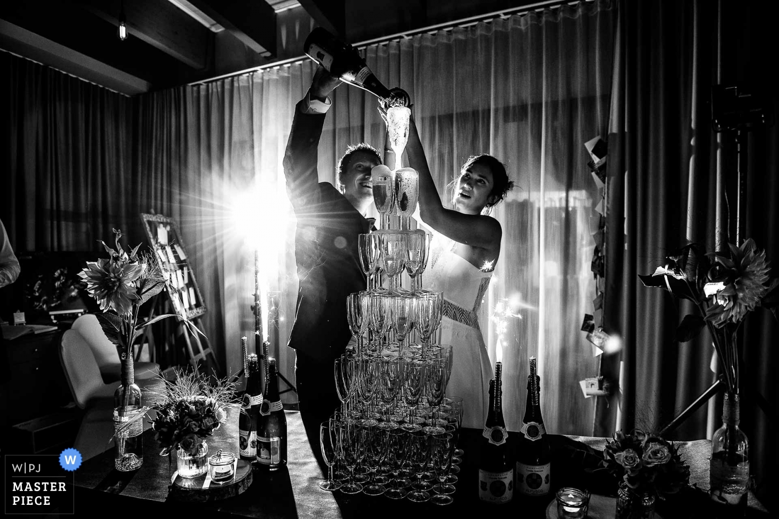 the cutting of the cake - Melbourne, Victoria, Australia Wedding Photography -  | Hotel de la mer, Brignogan Plage, France