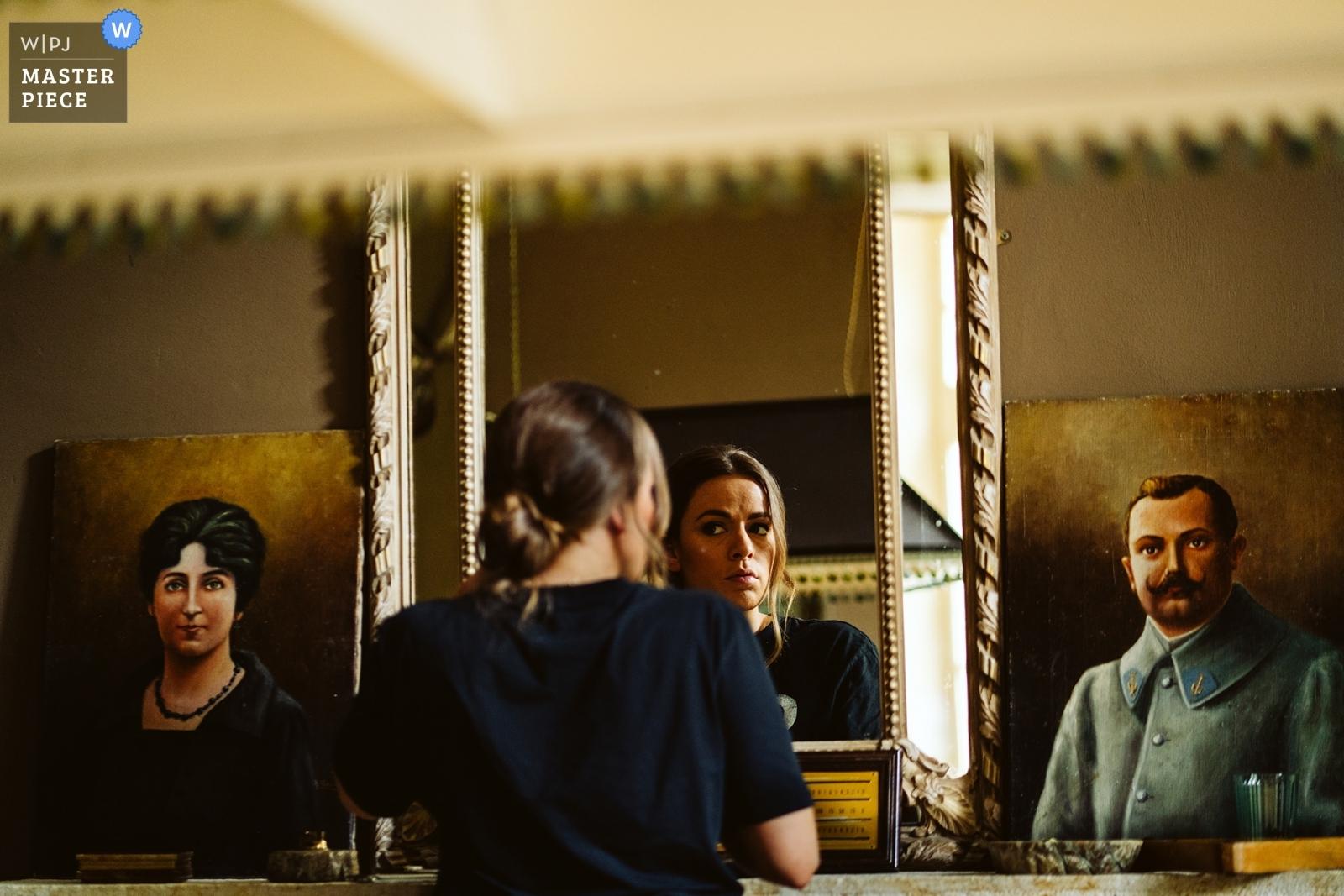 Bridesmaid preparation - Greater Manchester, England Wedding Photography -  | Chateau Lartigolle, France
