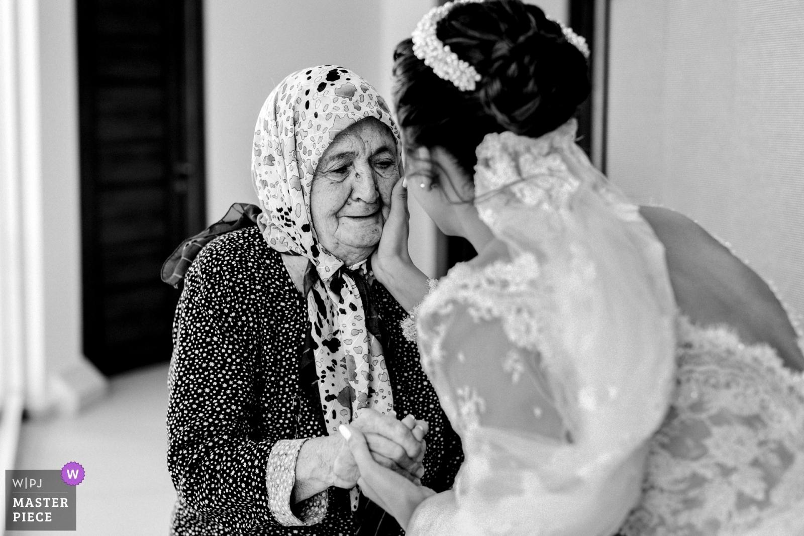 Love of Grandmother - Istanbul, Turkey Wedding Photography -    Çanakkale-Aqua Hall