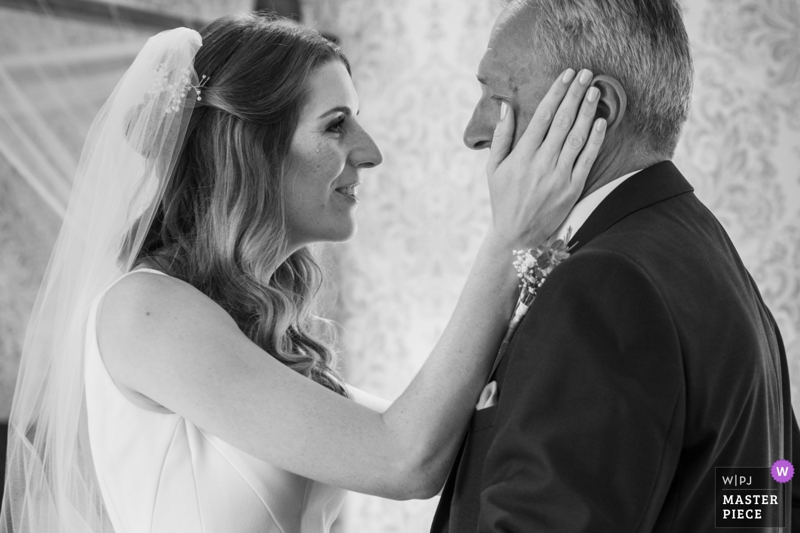 The bride is so emotionnal with her father - Nouvelle-Aquitaine, France Wedding Photography -  | Domaine de Grolhier
