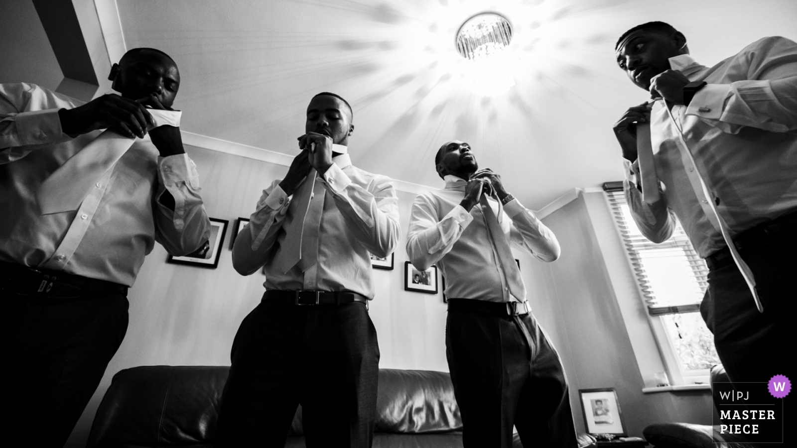 Tie up - London, England Wedding Photography -  | Richmond Hill Hotel, UK